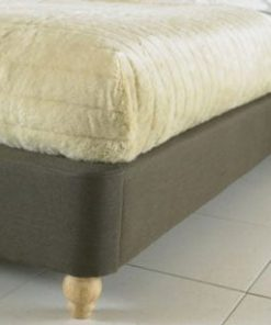 BIANCA BELIZE WING FABRIC SLEIGH BED 7