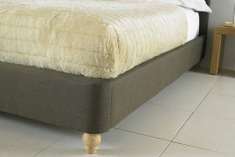 BIANCA BELIZE WING FABRIC SLEIGH BED 4