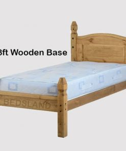 Corona Mexican wooden Bed set 5