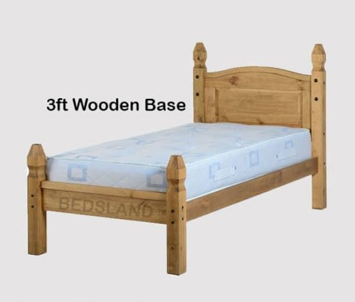 Corona Mexican wooden Bed set 2