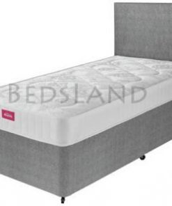 ADDERALL Suede 3FT Single Divan Storage Beds With Headboard 7