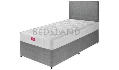 ADDERALL Suede 3FT Single Divan Storage Beds With Headboard 2
