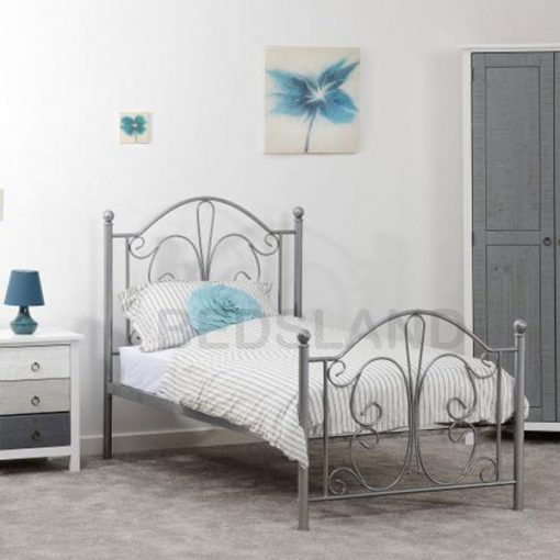 Annabel Metal Frame Bed With Mattress 1