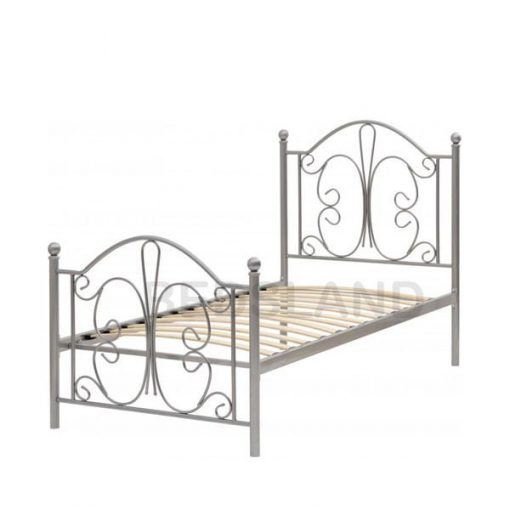 Annabel Metal Frame Bed With Mattress 2