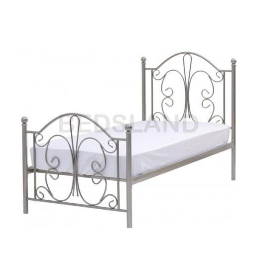 Annabel Metal Frame Bed With Mattress 3
