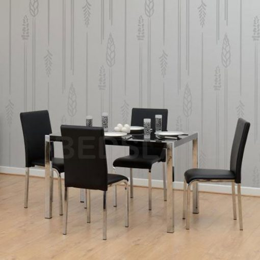 Charisma 4' Dining Table & Chairs Set 1
