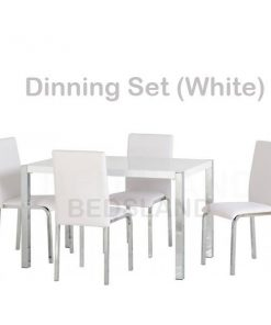 Charisma 4' Dining Table & Chairs Set 8