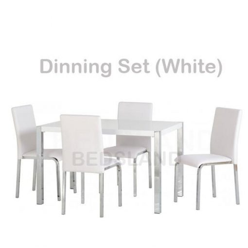 Charisma 4' Dining Table & Chairs Set 2