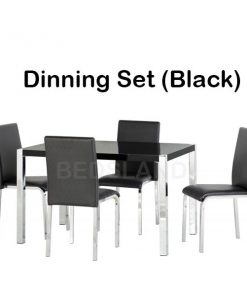 Charisma 4' Dining Table & Chairs Set 9