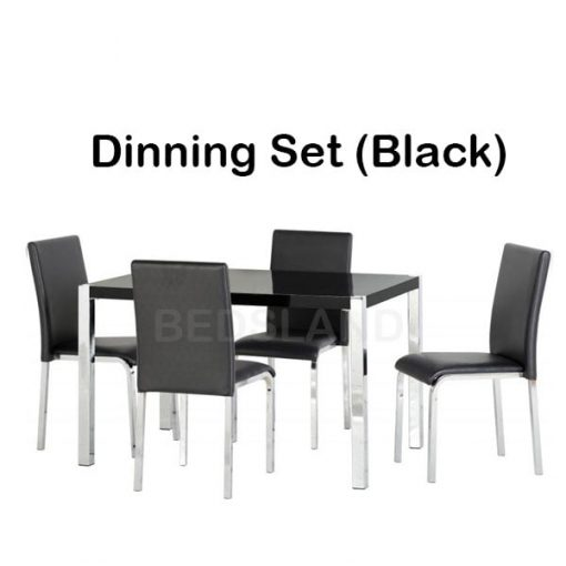 Charisma 4' Dining Table & Chairs Set 3
