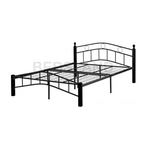 Luton Metal Frame Bed Single & Double With Mattress 3