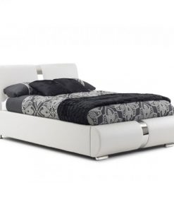 Marsia Designer Faux Leather Bed| Double & King Size 4