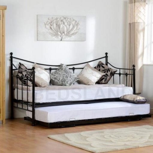 Torino Day Metal Bed Frame Single & Double 1