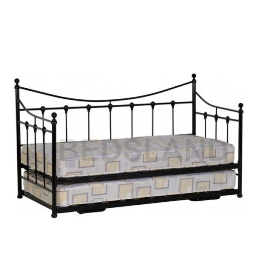 Torino Day Metal Bed Frame Single & Double 3