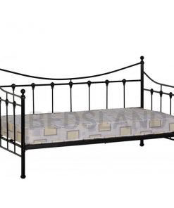 Torino Day Metal Bed Frame Single & Double 7