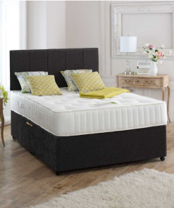 MELODY 4FT6 Double Divan Storage Bed 3