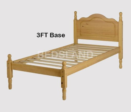 Med Sol Double Wooden Bed Set With Mattress 3