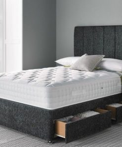 LIPA 3FT Single Charcoal Chenille With Liner Headboard 3